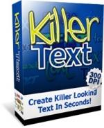 Thumbnail Killer Text