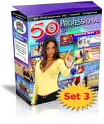 Thumbnail 50 Professional Biz Header Templates : Set 3 With Private Label Rights