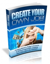 Create Your Own Job - With Master Resale Rights
