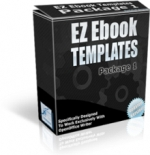 Thumbnail EZ Ebook Templates Package 1 - With Master Resale Rights