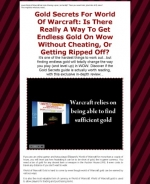 Thumbnail Gold Secrets For World Of Warcraft - With Resale Rights