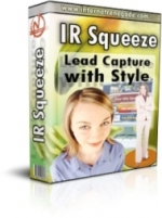 Thumbnail IR Squeeze - Lead Capture With Style - With Private Label Rights