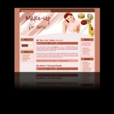 Thumbnail Makeup WP Theme With Master Resale Rights