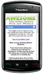 Thumbnail Mobile Template - With Master Resale Rights