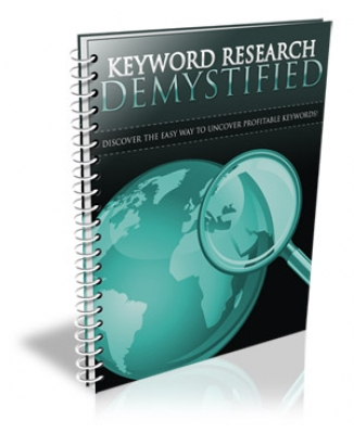 Product picture Keyword Research Demystified