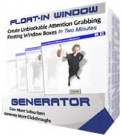 Product picture Float-In Window Generator With RR (Resell Rights)