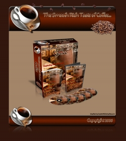 Product picture Coffee Minisite With RR (Resale Rights)