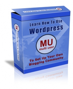 Product picture Learn How To Use Wordpress MU (Multi User)