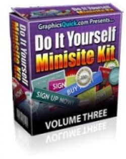 Product picture Do It Yourself Minisite Kit : Volume 3 With Personal Use Only