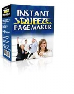 Product picture Instant Squeeze Page Maker With Master Resell Rights