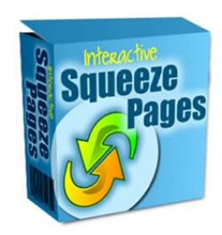 Product picture Interactive Squeeze Pages With Master Resale Rights