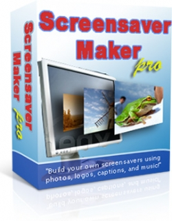 Product picture Screensaver Maker Pro With Private Label Rights